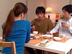 Hoshino Akari in Akari Hoshino Chirarizumu Dimensions Of The Mother-in-law To Stop Temptation